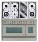 Kitchen Stove ILVE PSW-120V-VG Stainless-Steel