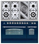Kitchen Stove ILVE PN-120V-MP Blue