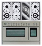 Kitchen Stove ILVE PSL-120V-VG Stainless-Steel