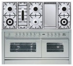 Kitchen Stove ILVE PW-150F-VG Stainless-Steel