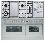 Kitchen Stove ILVE PW-150FS-VG Stainless-Steel