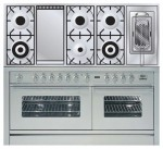 Kitchen Stove ILVE PW-150FR-VG Stainless-Steel
